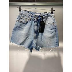 Шорти джинсові Hit me up 6763#