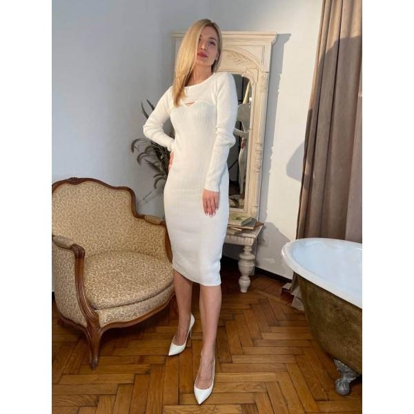 Сукня двійка трикотажне лапша