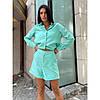 Костюм жіночий бавовняний сорочка з шортами, фото 3