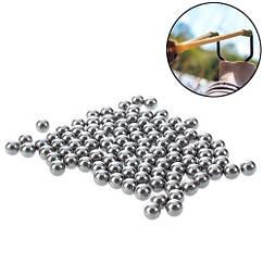 Кульки сталеві 7.3 мм для рогатки арбалета 100шт