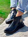 Ботинки женские Maribel черные 4373, фото 5