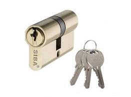 Цилиндр Дверной Siba Английский Ключ-Ключ 90 Мм Латунь 240674 ZZ, КОД: 1940148