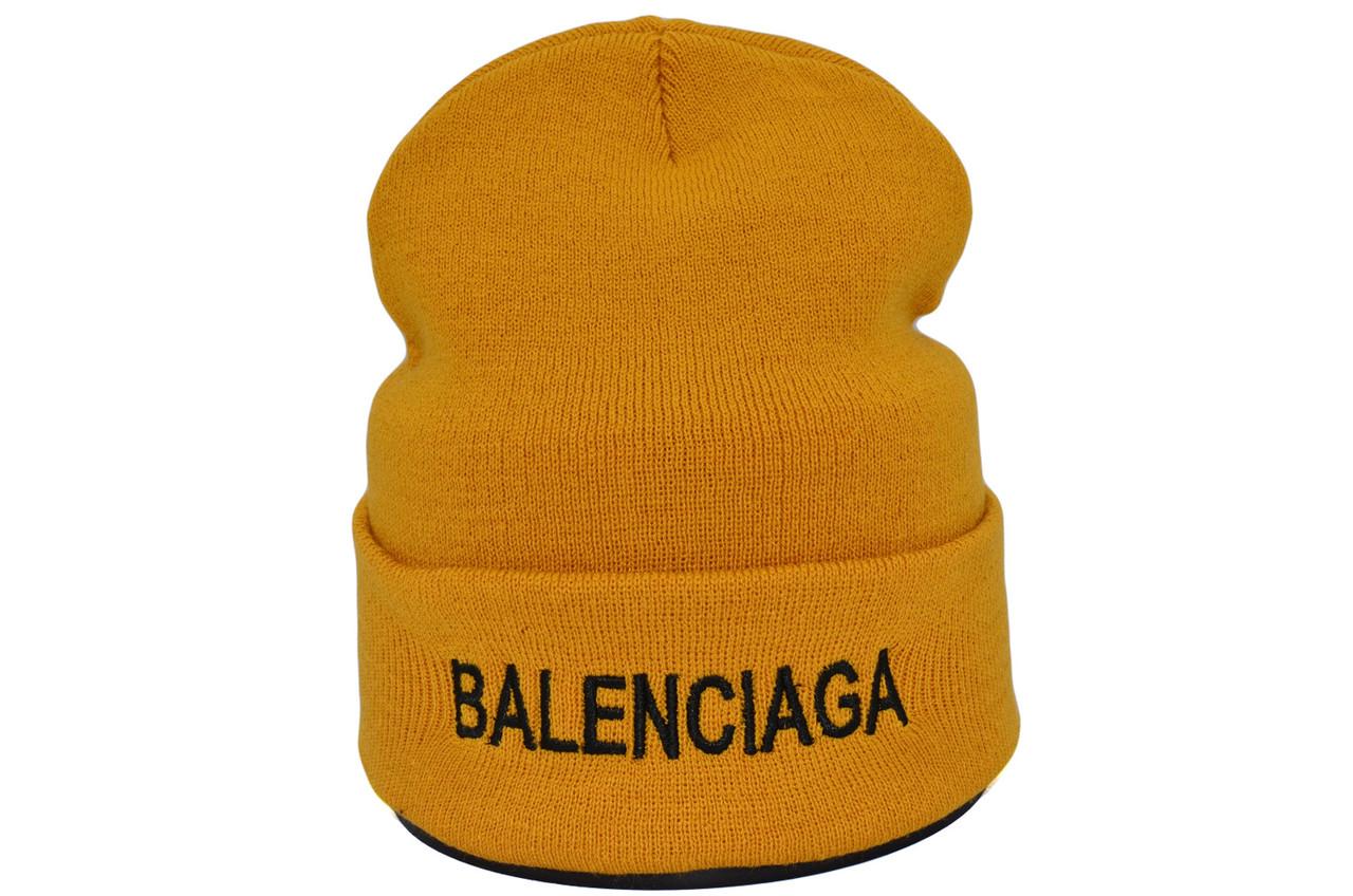 Шапка Hip Hop Shop Balenciaga 55-59 см гірчична (H-08118-400)