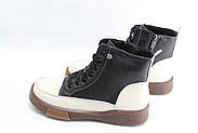 Женские кожаные ботинки MeegoComfort 25-7-black, фото 2