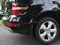 Брызговики оригинал передние и задние на Mercedes-Benz ML 2006-12