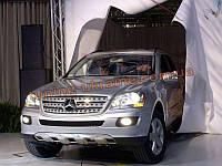 Накладка на бампер передняя Mercedes-Benz ML 2006-12