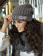 Красивый модный шарф-снуд и шапка от Kamea - Klarisa.