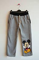 Теплые штаны Mickey Mouse для мальчика. 130, 140 см