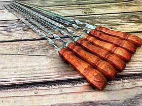 """Набір шампурів Mavens """"ВІП"""" з дерев'яною ручкою, 6 шт"""