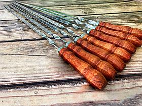 """Набір шампурів Mavens """"ВІП"""" з дерев'яною ручкою, 7 шт"""