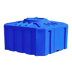 Емкость Рото Европласт квадратная двухслойная 300 л Синяя 16 ZZ, КОД: 1881643