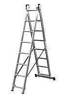 Универсальная лестница двухсекционная Corda 2x7