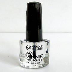 Лак для ногтей Colour Intense MINNIE 5 мл. NP-16 № 001 top coat Прозрачный
