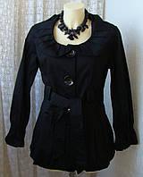 Плащ женский модный стильный хлопок бренд AX р.46 5035, фото 1