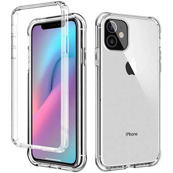 """Чехол TPU+PC Full Body с защитой 360 для Apple iPhone 12 mini (5.4"""")"""