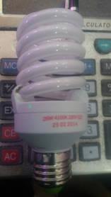 Лампочка энергосберегающая 26 Вт.
