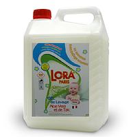 Гель для стирки Lora Paris Aloe Vera et de Talc детский, 5 л (90 стирок)
