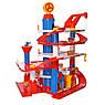 Детская игрушка паркинг-гараж для машин 866-32 транспорт четыре этажа кран лифт, фото 3