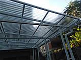 Профільний полікарбонат  Suntuf колотий лід 1,06х3м, прозорий  2УФ-захист, фото 6