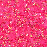 Стразы Rose Neon AB ss16(4мм).Цена за 100шт.