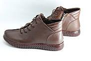 Женские ботинки на низком ходу размеры 39-42 JUVKEL 88-5-brown, фото 2