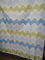 Штора для ванної душа Jackline тканинна 180х200см, фото 1