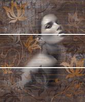 Декор-панно Халкон Луук Графито Алюр-1 600*500 Halcon Look Grafito Alure-1 для стен.