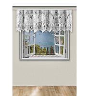 Жаккардовый тюль рис 506 (высота 60, 65 см), фото 1
