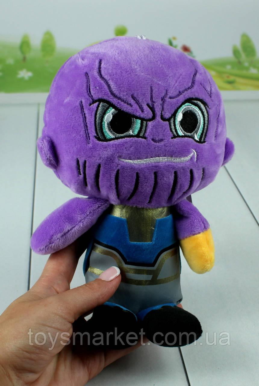"М'яка іграшка Танос, Thanos, плюшевий Танос ""Marvel"", ""Iron Man"", ""Avengers"""