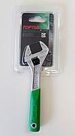 """Ключ разводной TOPTUL 6"""" 162мм с обрезиненной ручкой AMAA2415"""
