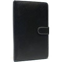 Черный чехол для планшета диагональю 7 дюймов на резинках