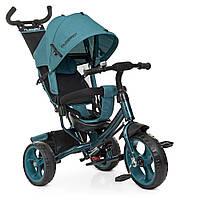Велосипед детский трехколесный колясочный Turbotrike колеса EVA, тормоз, быстрый съем колес, подшипники