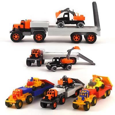 Машинки, техніка і фігурки