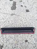 """Накладка на передний бампер """"домик"""" Mercedes G-class W463 стиль Brabus, фото 2"""