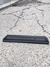 """Накладка на передний бампер """"домик"""" Mercedes G-class W463 стиль Brabus"""