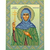 Св. Стефанида Дамасская размер: 13*17  К-во цветов: 8
