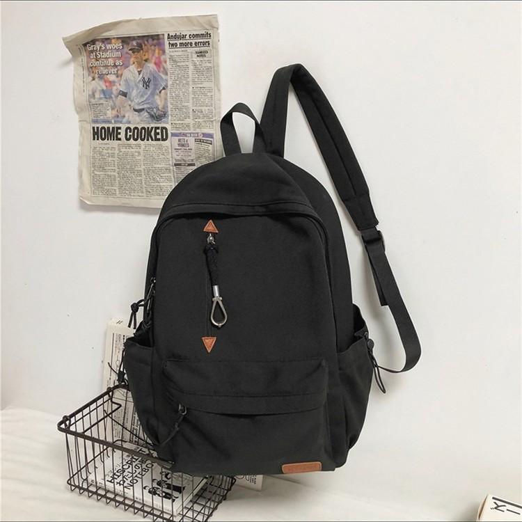 Чорний рюкзак міський