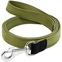 Повідець Collar брезент зі світловідбивною ниткою 2м*3,5 см (0509)