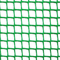 Клевер Сетка пластиковая 'забор' яч. 10х10 мм, рул. 1х20 м (темно зеленая)