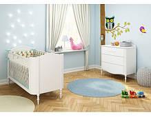 Детская кроватка Bellamy Good Night Anna Mucha + Защитный борт, фото 3