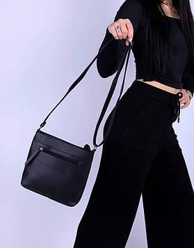 Женская сумка черная код 7-1803