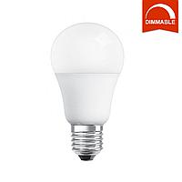 Светодиодная LED лампа OSRAM SUPERSTAR A60 10W 806lm E27 теплый белый, диммируемая, матовая