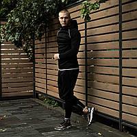 Мужской спортивный костюм Дайвинг черный