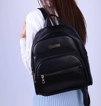 Рюкзак жіночий чорний код 7-631