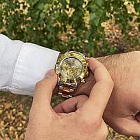Чоловічий годинник Ролекс Rolex Daytona Automatic Silver-Gold-Gray