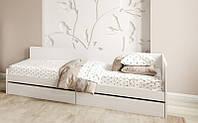 Кровать с ящиками Соната-800 (1932х836х605) НИМФЕЯ АЛЬБА