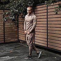 Мужской спортивный костюм Дайвинг бежевый