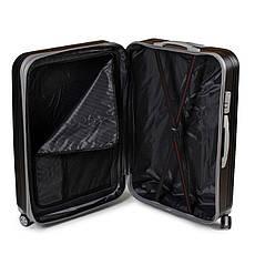 Дорожная Чемодан 31 ABS-пластик 802 black, фото 3