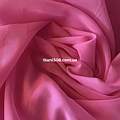 Шифон однотонный(Розовый)