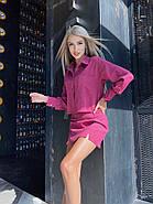 Костюм женский укороченный пиджак и юбка, фото 4